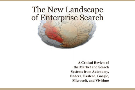 New Landscape of Enterprise Search cover