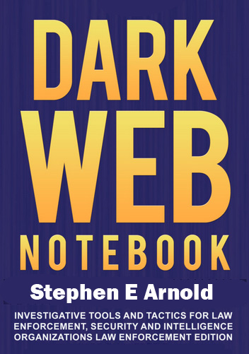 Dark Web Notebook Cover