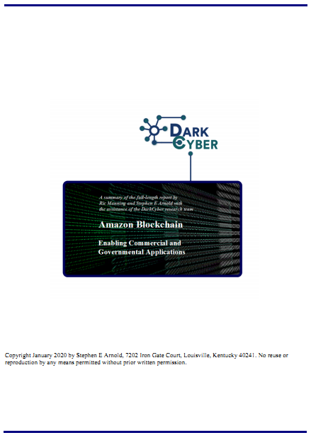 Amazon Blockchain free cover
